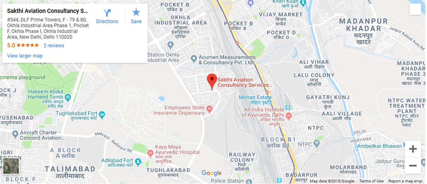Contact - Sakthi Aviation