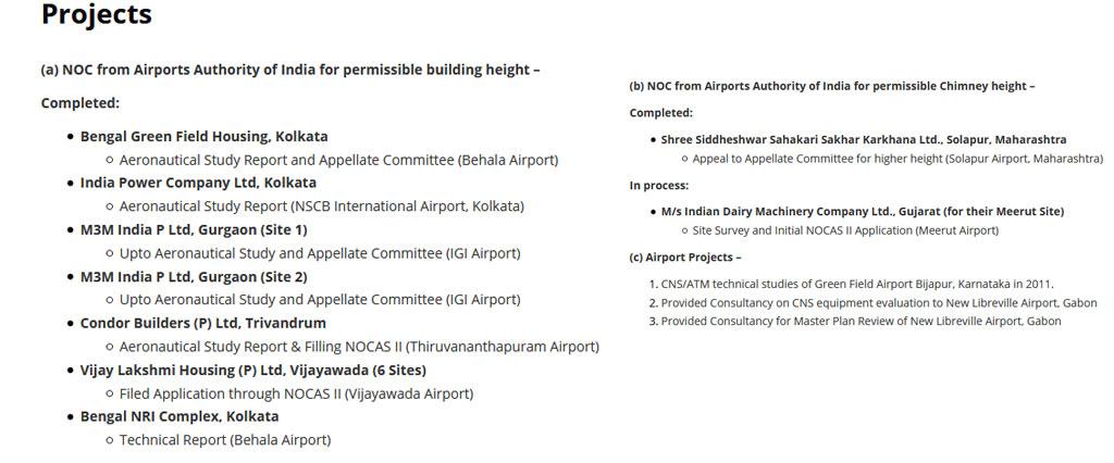 Sakti Aviation Projects